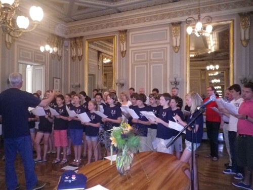 Cheltenham College Junior Choir in Annecy July 2011