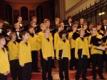 Göttingen's boys choir visit to Cheltenham October 2010