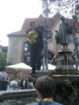 Gänseliesel statue in Göttingen