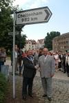 Göttingen's Twinning Signpost