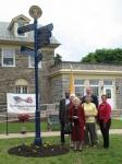 Cheltenham Pennsylvania's Twinning Signpost