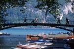 Annecy's Lovers' Bridge