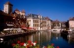 Annecy's Canal and Old Town