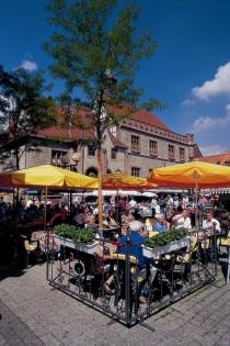 Market place in Gottingen